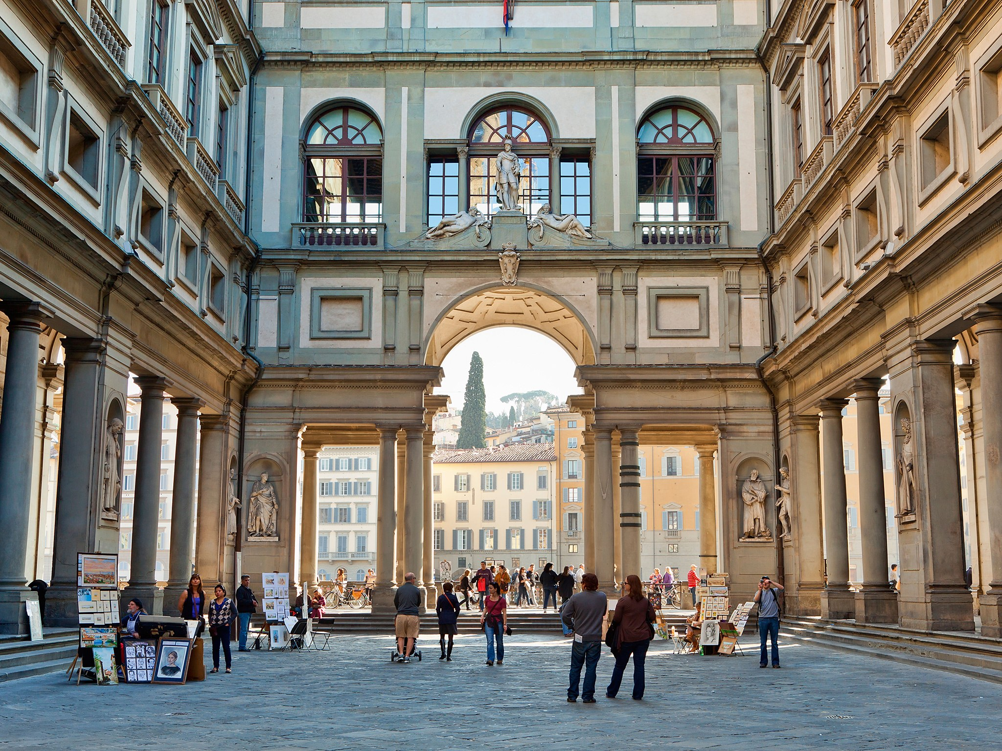 Italian Florence: Christiane Andres Tour Guide In Florence: Visit Florence